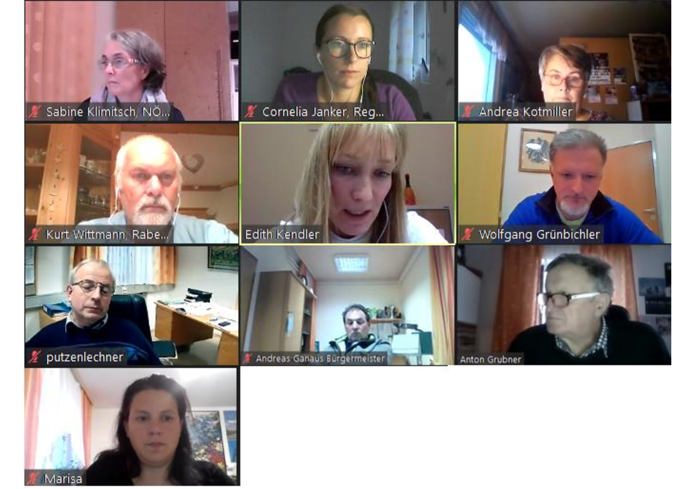 Generalversammlung Regionalbüro Pielachtal